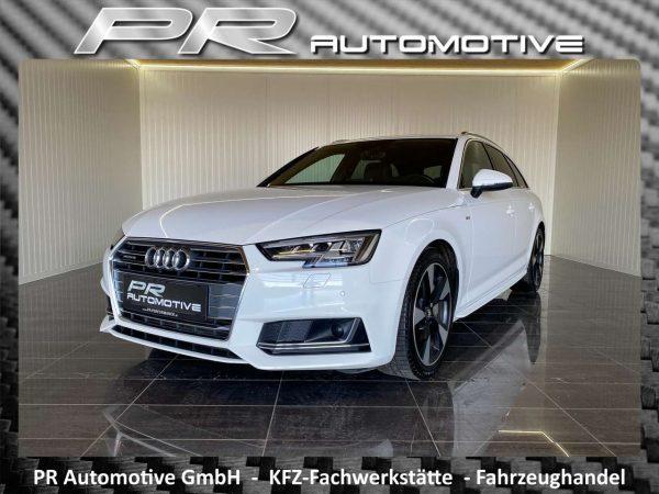 Audi A4 quattro sport Avant 3,0TDI S-tronic 2 x S-line bei PR Automotive GmbH in