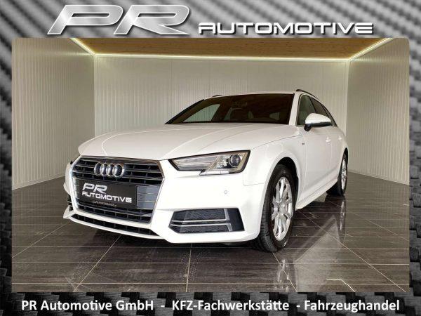 Audi A4 sport Avant 2,0TDI 150PS S-tronic S-line Massage bei PR Automotive GmbH in