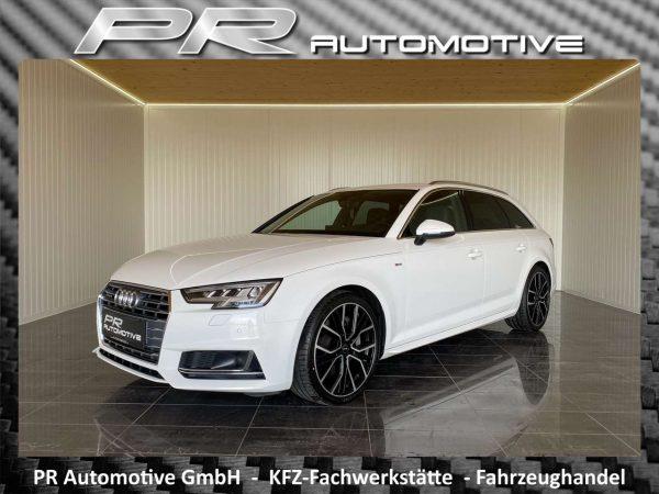 Audi A4 quattro sport Avant 3,0TDI S-tronic 2xS-line bei PR Automotive GmbH in